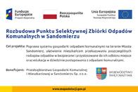 Rozbudowa Punktu Selektywnej Zbiórki Odpadów Komunalnych w Sandomierzu